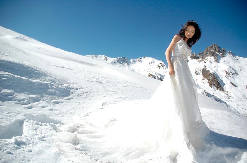 雪景婚纱摄影