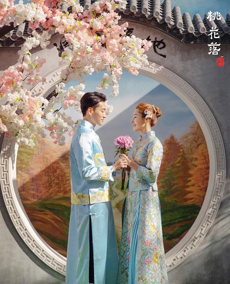 婚纱摄影-桃花落