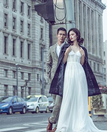 欧美婚纱摄影作品